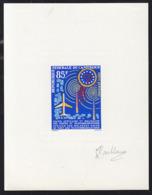 CAMEROUN (1963) Telegraph Towers. UAMPT Emblem. Deluxe Sheet. Scott No C47, Yvert No PA59. - Cameroun (1960-...)