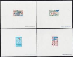 SENEGAL (1967) Hydrological Decade. Set Of 4 Deluxe Sheets. Scott Nos 283-6, Yvert Nos 288-91. - Senegal (1960-...)