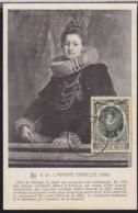 BELGIUM (1941) Archduchess Isabella. Maximum Card With First Day Cancel. Scott No B302. - 1934-1951
