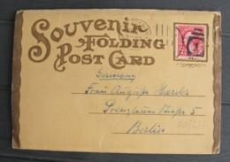 West Baden Springs French Lick - Souvenir Folding Post Card Leporello - Etats-Unis