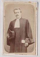 CDV  Mr Albert Meurgé  En Tenue D'avocat (33) 1879   Il Fut Maire Du 5ème Arrondissement De Paris (75)  Par Girard - Anciennes (Av. 1900)
