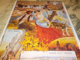 ANCIENNE  PUBLICITE SYNDICAT D INITIATIVE DE PROVENCE - Publicidad