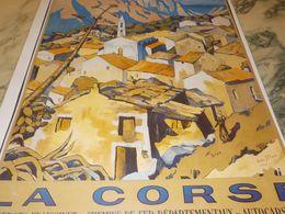 ANCIENNE  PUBLICITE LA CORSE - Publicidad