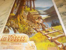 ANCIENNE  PUBLICITE LES VOSGES VALLEE DE GERARDMER - Publicidad