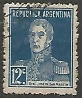 ARGENTINE N° 283 OBLITERE - Argentine