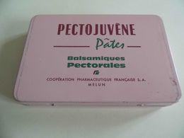 Boite Metallique Médicament- Pectojuvène - Melun - Voir Photos - Boîtes