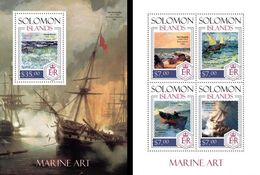 Salomon 2014, Art, With Ships, 4val In BF+BF - Künste