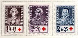 1935 - FINLANDIA - Mi. Nr. 188/190 - LH/USED -  (UP.70.46) - Finlande