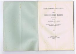 CARLETO MONFORTE CONTRO SAN RUFO ( SALERNO ) STABILIMENTO TIPOG. DE BONIS - 1895 - Libros, Revistas, Cómics