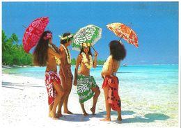 Polynésie Française- Joie De Vivre à TAHITI (nu Nue Seins Nus)TEVA SYLVAIN TAHITI Photo A.SYLVAIN N°658 - Polynésie Française