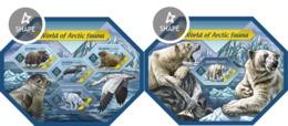 Salomon 2014, Artic Animals, Birds, 4val In BF+BF - Faune Arctique