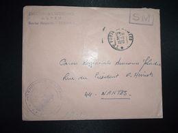 LETTRE OBL.31-8 1970 POSTE AUX ARMEES DIRECTION DE L'INTENDANCE De La 3e R.M. RENNES (35) INTENDANCE P.F. BEGUINET - Postmark Collection (Covers)