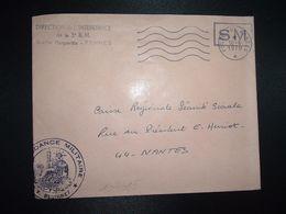 LETTRE OBL.MEC.16-6 1970 POSTE AUX ARMEES DIRECTION DE L'INTENDANCE De La 3e R.M. RENNES (35) INTENDANCE P.F. BEGUINET - Postmark Collection (Covers)