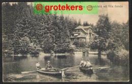 BAD SACHSA Schmelzteich Mit Villa Gutsche 1923 - Bad Sachsa
