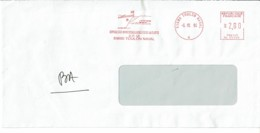 1994 - Oblit. Machine  SMH Alcatel Type RC - 83800 TOULON NAVAL (Service Des Approvisionnements De La Flotte) - Postmark Collection (Covers)