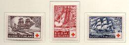 1937 - FINLANDIA - Mi. Nr. 199/201 - LH -  (UP.70.46) - Finlande