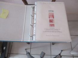 Documents De La Poste Année  1998 - Timbres
