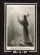 Bid Voor De Ziel - Judocus BOLLAERTS - Thielt 1861 / Sint-Joris-Winghe 1885 - 2 Scans - Devotion Images