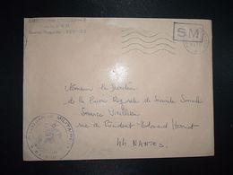 LETTRE OBL.MEC.6-8 1970 POSTE AUX ARMEES DIRECTION DE L'INTENDANCE De La 3e R.M. RENNES (35) INTENDANCE P.F. BEGUINET - Postmark Collection (Covers)
