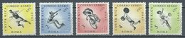 Costa Rica Poste Aérienne YT N°301-302-303-304-305 Jeux Olympiques De Rome 1960 Neuf ** - Costa Rica