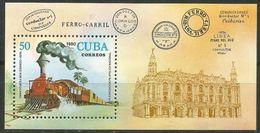 1980Cuba2524/B65Locomotives - Treni