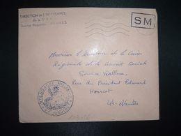 LETTRE OBL.MEC.30-11 1970 POSTE AUX ARMEES DIRECTION DE L'INTENDANCE De La 3e R.M. RENNES (35) INTENDANCE P.F. BEGUINET - Postmark Collection (Covers)