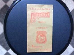 PROGRAMME THEATRE DE L'ODÉON  L'Illustration  *POLYEUCTE  *GEORGE DANDIN   Novembre 1903 - Programmes