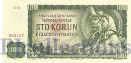 CZECHOSLOVAKIA 100 KORUN 1990 PICK 91c VF+ - Cecoslovacchia