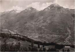 05- HAUTES ALPES - Cpsm Gd Format - Vallée De La Guisane - VILLENEUVE LA SALLE LES ALPES ET LE GRAND AREA - Serre Chevalier