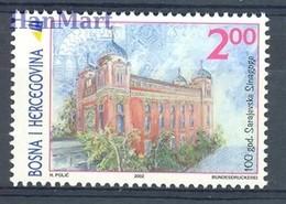 Bosnia And Herzegovina 2002 Mi 276 MNH ( ZE2 BSN276 ) - Moscheen Und Synagogen