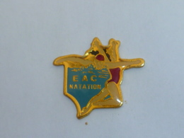 Pin's E.A.C. NATATION - Natation