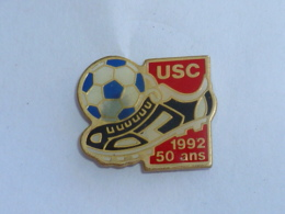 Pin's FOOTBALL, U.S.C. 50 ANS - Fussball