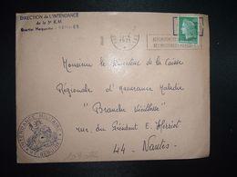 L. TP 0,30 OBL.MEC.15-6 1971 POSTE AUX ARMEES DIRECTION DE L'INTENDANCE De La 3e R.M. RENNES(35)INTENDANCE P.F. BEGUINET - Postmark Collection (Covers)