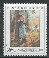 Tsjechië 2001, Mi  310, Hoge Waarde,  Gestempeld - Tchéquie