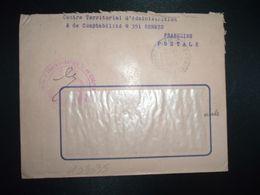LETTRE OBL.9-9 1964 RENNES GARE ILLE ET VILAINE (35) CENTRE TERRITORIAL D'ADMINISTRATION ET DE COMPTABILITE N°351 - Postmark Collection (Covers)