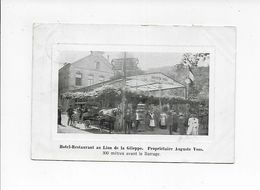 HOTEL RESTAURANT AU LION DE LA GILEPPE  1905  TRES BELLE ANIMATION - Baelen