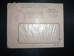 LETTRE OBL.MEC.1-10 1964 RENNES GARE ILLE ET VILAINE (35) CENTRE TERRITORIAL D'ADMINISTRATION ET DE COMPTABILITE N°351 - Postmark Collection (Covers)