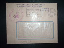 LETTRE OBL.MEC.16-10 1964 RENNES GARE ILLE ET VILAINE (35) CENTRE TERRITORIAL D'ADMINISTRATION ET DE COMPTABILITE N°351 - Postmark Collection (Covers)