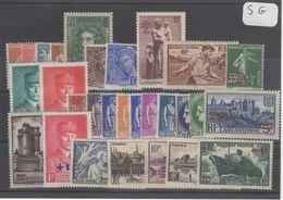 1599  Lot De TIMBRES FRANCE  NEUFS Sans Gomme Entre 1900 Et 1959     2 Euros La Plaquette - Other