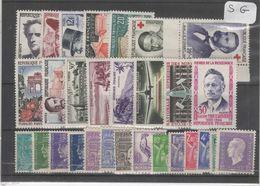 1600  Lot De TIMBRES FRANCE  NEUFS Sans Gomme Entre 1900 Et 1959     2 Euros La Plaquette - Other