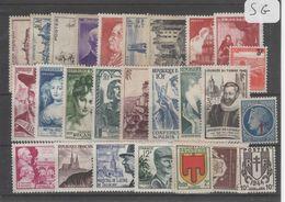 1605  Lot De TIMBRES FRANCE  NEUFS Sans Gomme Entre 1900 Et 1959     2 Euros La Plaquette - Other