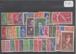 1606  Lot De TIMBRES FRANCE  NEUFS Sans Gomme Entre 1900 Et 1959     2 Euros La Plaquette - Other