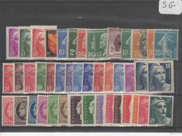 1607  Lot De TIMBRES FRANCE  NEUFS Sans Gomme Entre 1900 Et 1959     2 Euros La Plaquette - Other