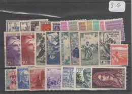 1609  Lot De TIMBRES FRANCE  NEUFS Sans Gomme Entre 1900 Et 1959     2 Euros La Plaquette - Other
