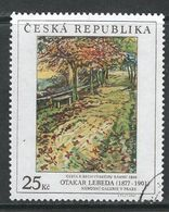 Tsjechië 2008, Mi  578, Hoge Waarde,   Gestempeld - Tchéquie