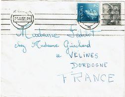 CTN63/ETR - ESPAGNE LETTRE DE BURGOS  31/7/1956 - 1931-Oggi: 2. Rep. - ... Juan Carlos I