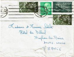 CTN63/ETR - ESPAGNE LETTRE DE BURGOS  7/8/1956 - 1931-Oggi: 2. Rep. - ... Juan Carlos I