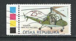 Tsjechië 2013, Mi  756, Hoge Waarde,  Gestempeld - Tchéquie