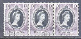 HONG KONG  184   (o)   CORONATION - Hong Kong (...-1997)