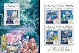 Salomon 2014, Minerals I, 4val In BF+BF - Minéraux